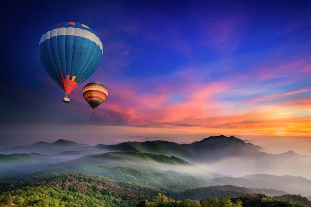 Ngắm một Chiang Mai rất khác bằng khinh khí cầu từ trên cao