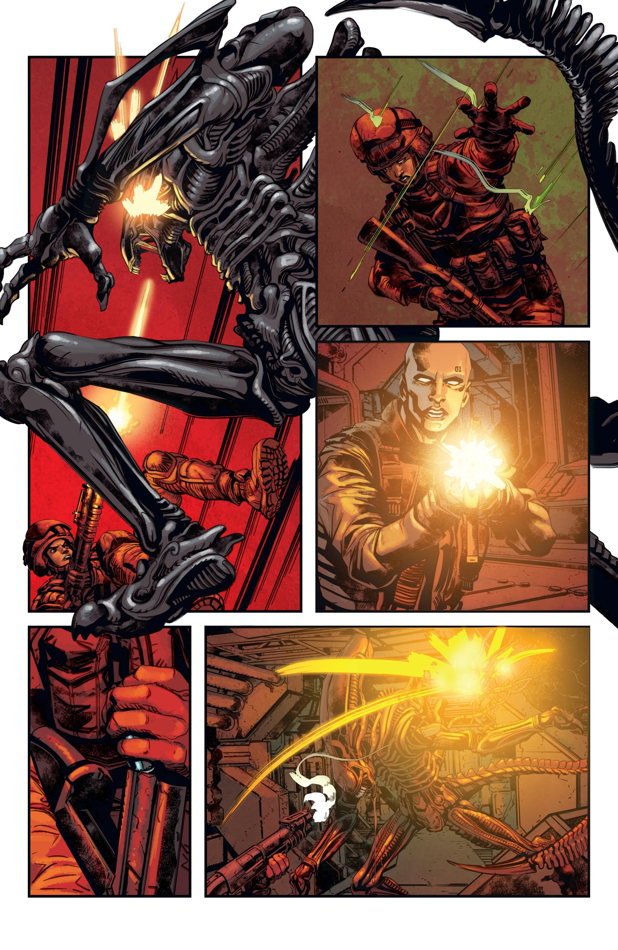 Read online Aliens: Defiance comic -  Issue #12 - 12