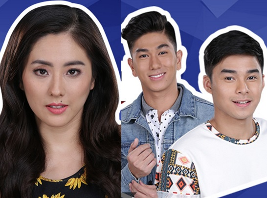 'THE LUCKY 2 STARS': Jinri Park and Hashtags members McCoy de Leon and Nikko Natividad