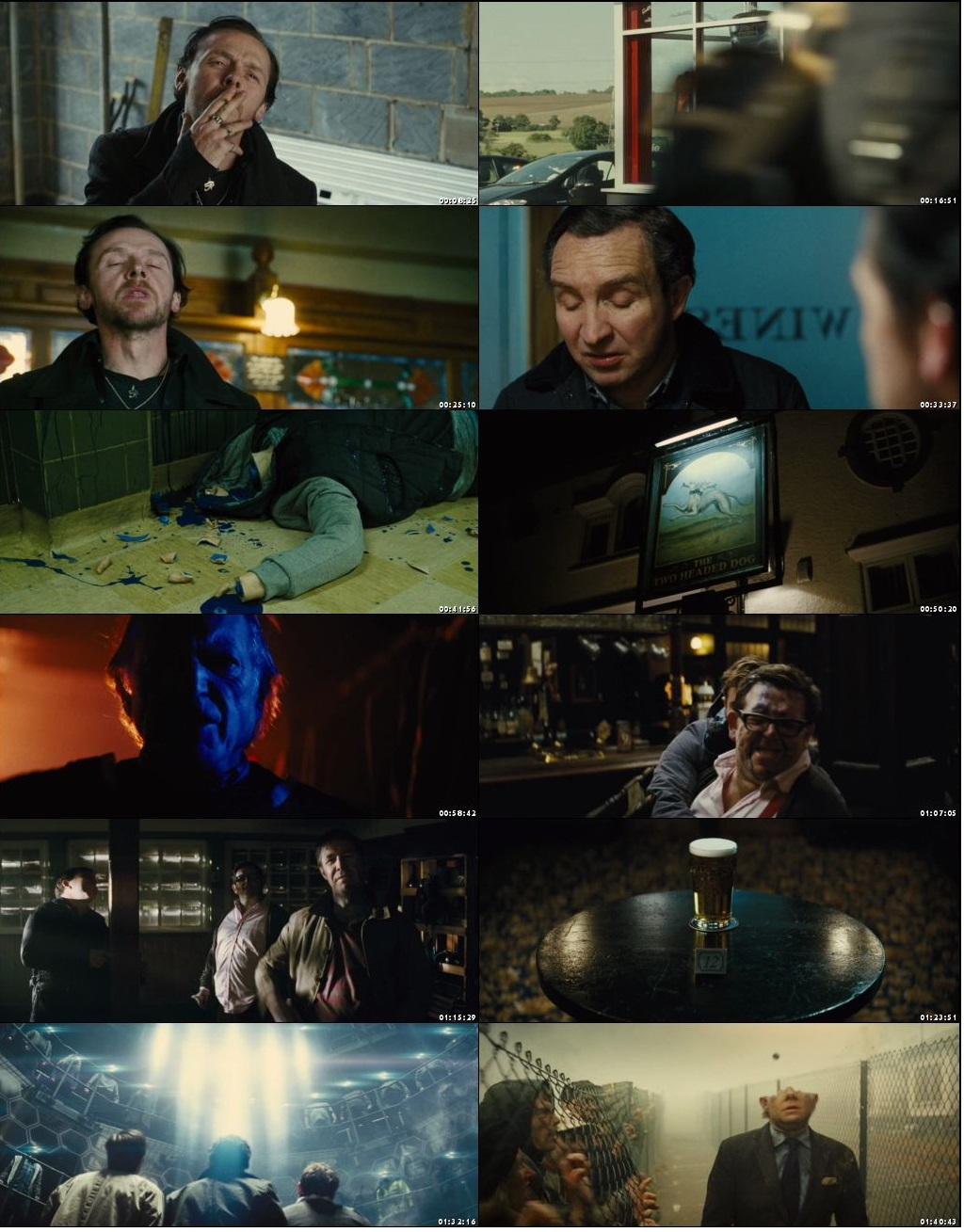 The World's End 2013 Dual Audio Hindi 350MB BluRay 480p Download Watch Online Free