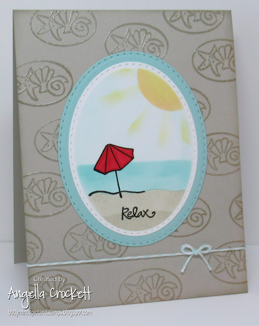 Studio G stamps, ODBD Custom Double Stitched Ovals Dies, Card Designer Angie Crockett