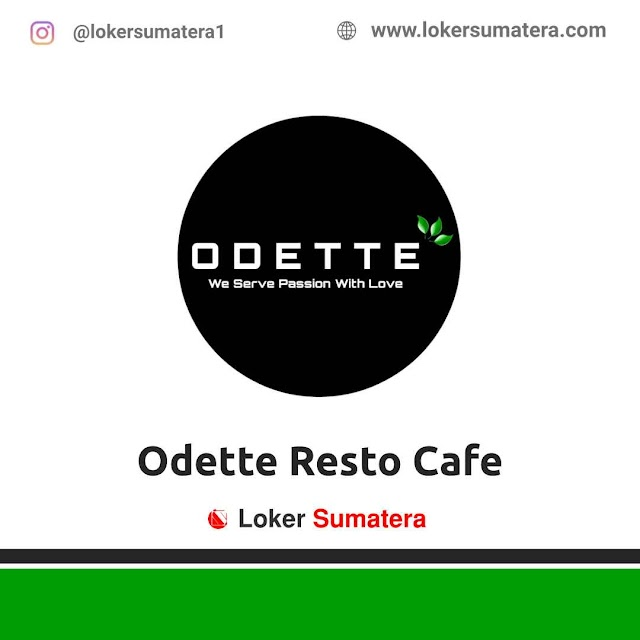 Odette Resto Cafe Medan