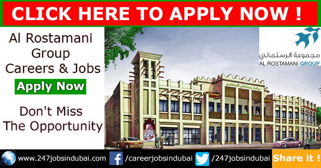 Job Opportunities at Al Rostamani Exchange Group Jobs and Careers