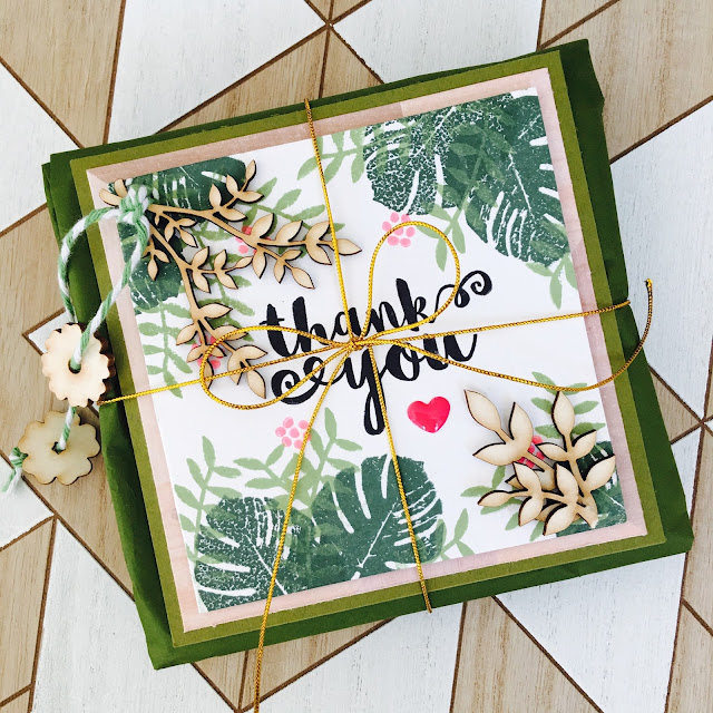 Tropical Card Set by Angela Tombari for Yuppla Craft DT