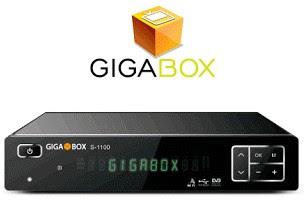Resultado de imagem para imagem GIGABOX S1100 NOVA