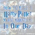 How to Have A Harry Potter Movie Marathon In One Day