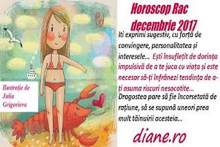 Horoscop decembrie 2017 Rac
