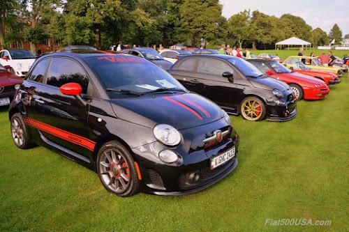 Fiat FreakOut Concours Car Show