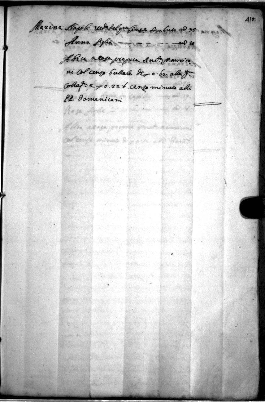 Taurianum - Seminara - Palmi - La Piana: Catasto Onciario di
