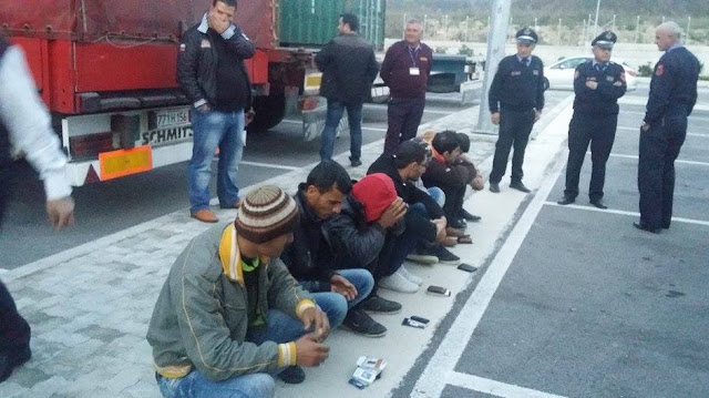 11 Syrian clandestines entering from Greece detained in Albania