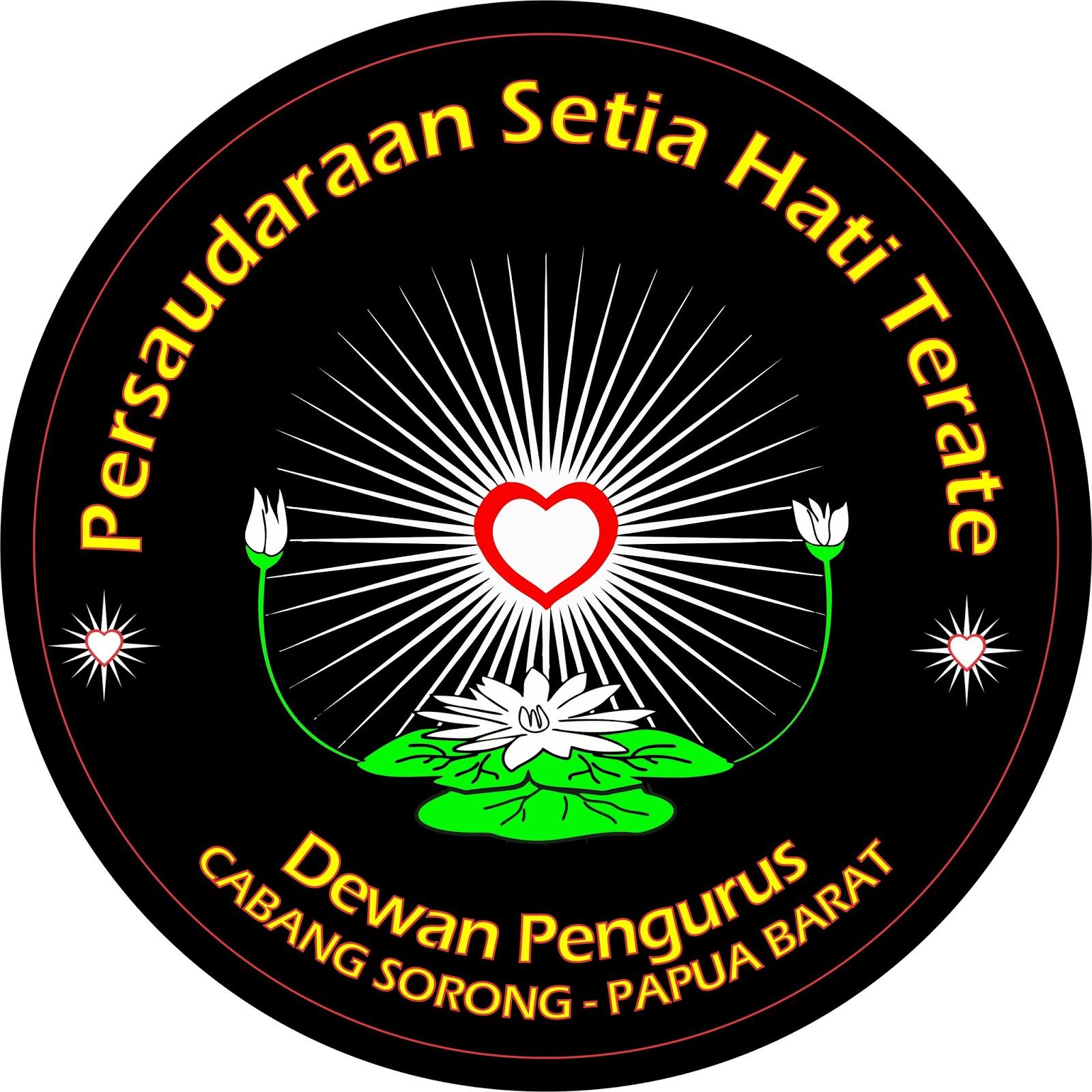 Psht Cabang Sorong Logo Dewan Pengurus Gambar