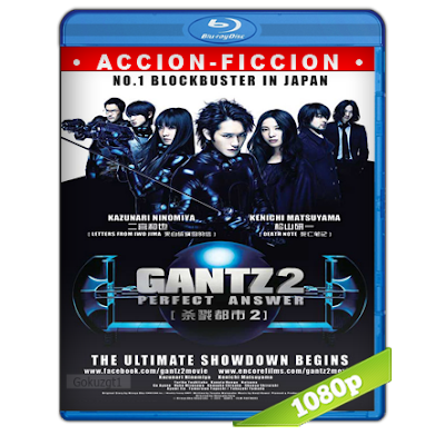 Gantz Perfect Answer (2011) BRRip Full 1080p Audio Dual Castellano-Japones 5.1
