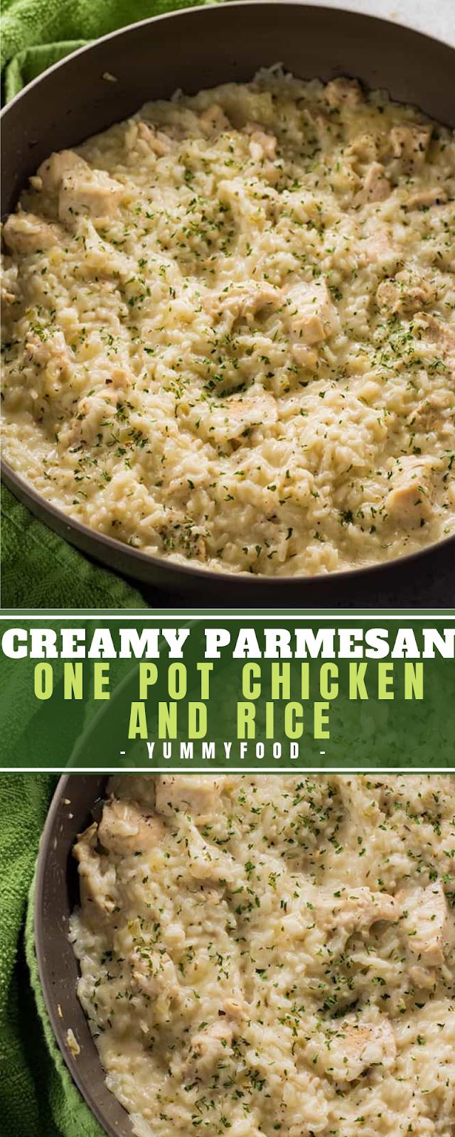 Creamy Parmesan One Pоt Chісkеn аnd Rice