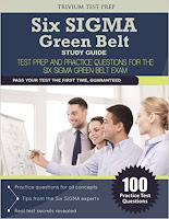 Six Sigma Green Belt Study Guide (Trivium Test Prep)