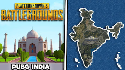 Indian Map in PUBG Mobile game