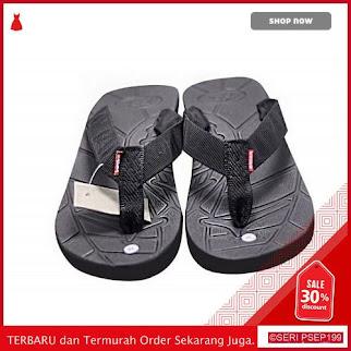 UAL701 Sandal Outdoor Kasual Ulzzang Hitam | BMGShop