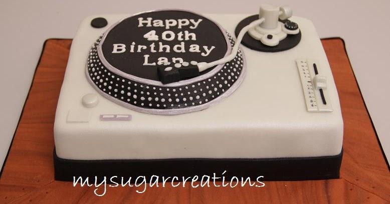 My Sugar Creations 001943746 M Turntable Cake Lan