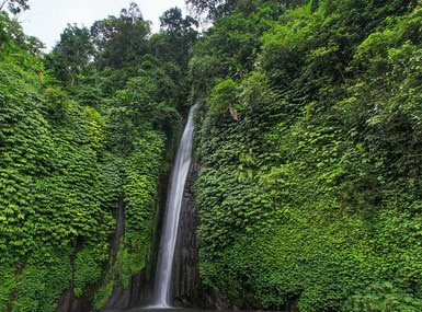 Wisata Air Terjun Munduk Di Buleleng, Bali, Indonesia