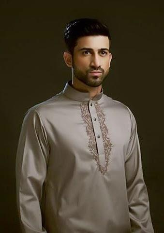 Pakistani Men Embroidered Eid Kurta Collection 2014/15 | Clothing9 | Latest Clothes Fashion ...
