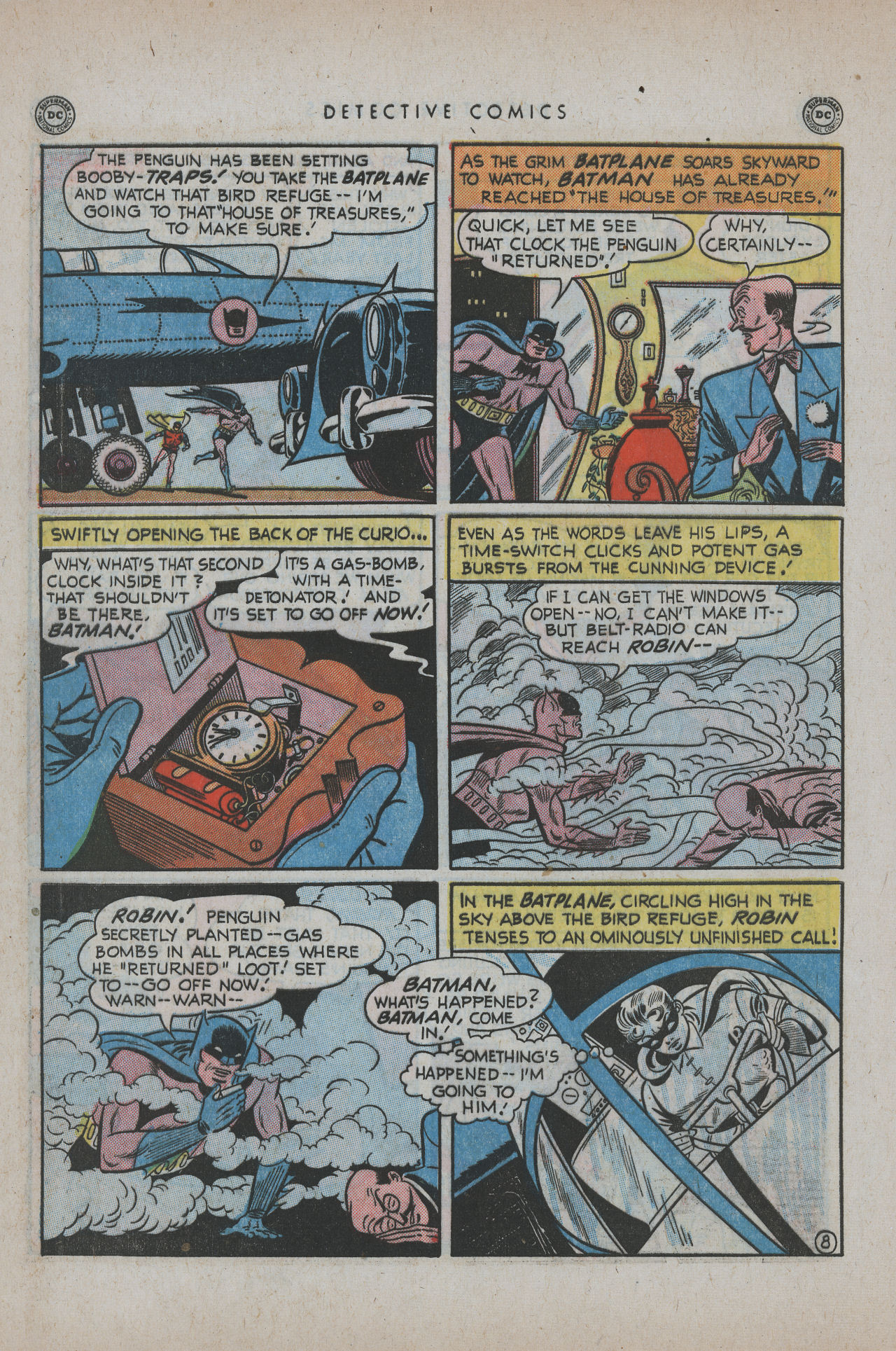Detective Comics (1937) 171 Page 9