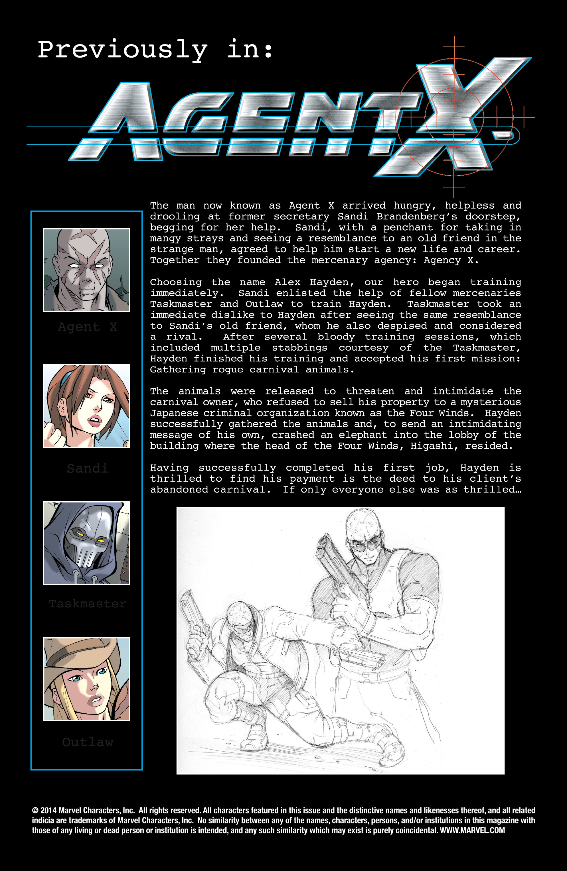 Read online Agent X comic -  Issue #2 - 2