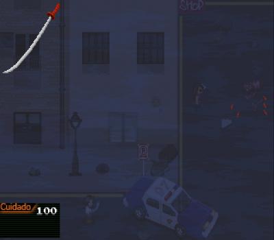 Desolate City - The Bloody Dawn (Enhanced Edition) - Espada en mano