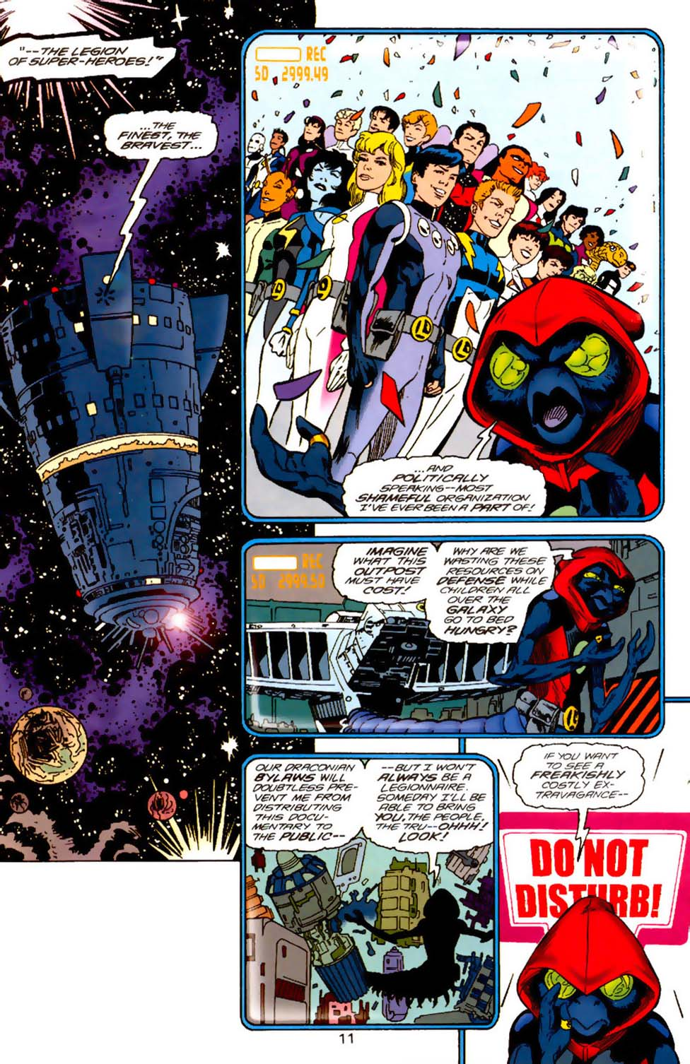 Legion of Super-Heroes (1989) 120 Page 11