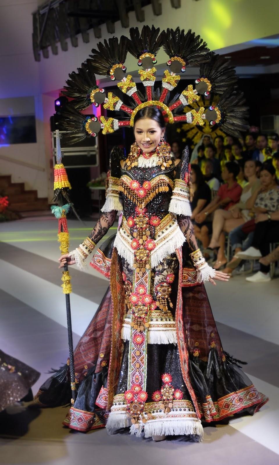 Ati-atihan Festival Kalibo Aklan by Nicole Salih Festival de las Bellas y Flores Gown Competition National Costume