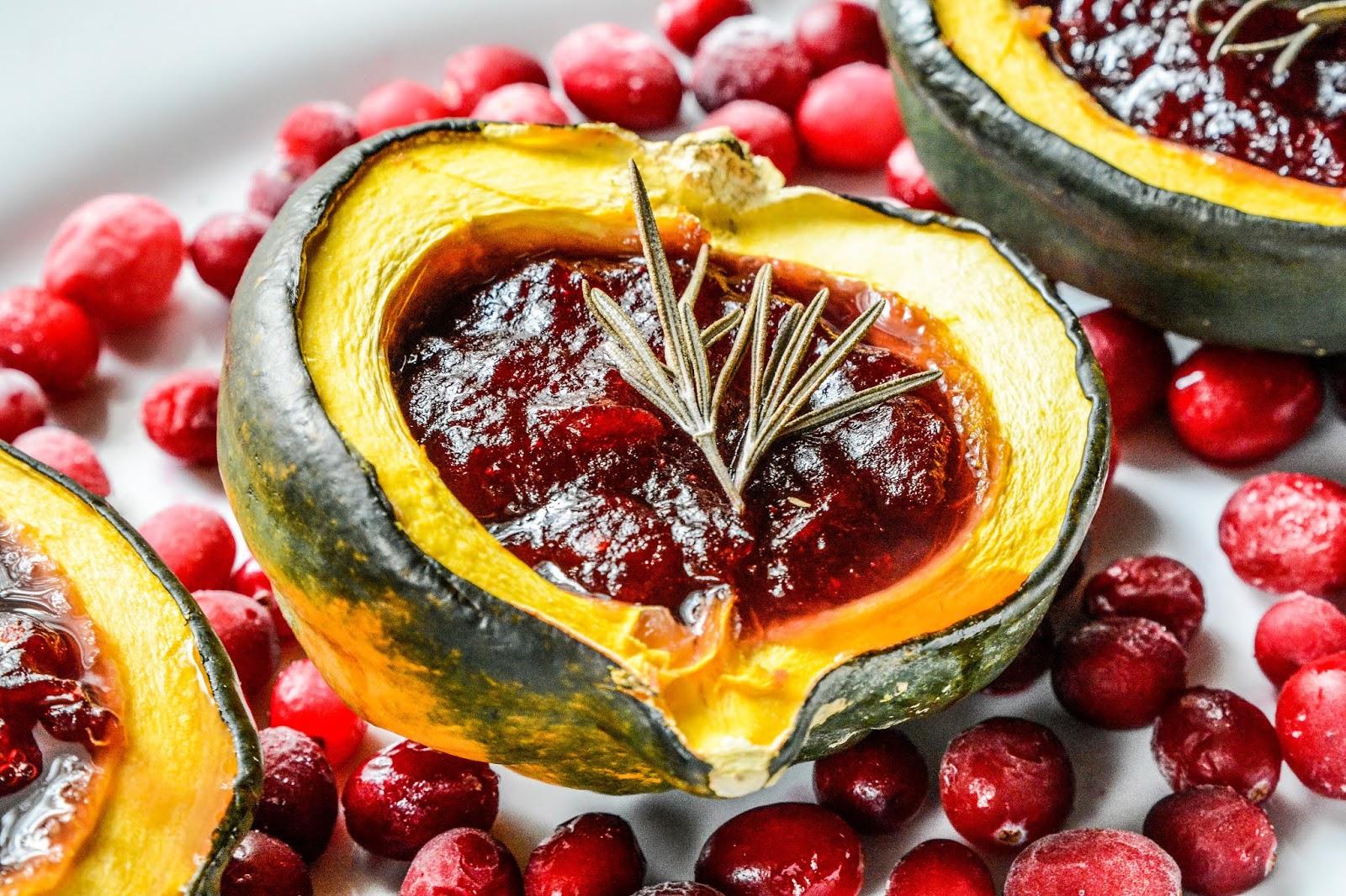 Cranberry Acorn Squash