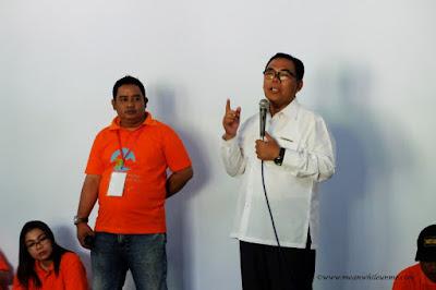 Pelepasan peserta di APNE 2017 oleh Bapak Asip Kholbihi