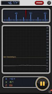 تطبيق أندرويد تطبيق تسلا متر  Teslameter