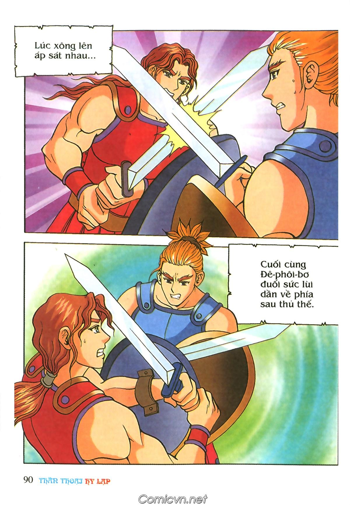 Thần Thoại Hy Lạp Màu - Chapter 69: Thành Troy thất thủ - Pic 20