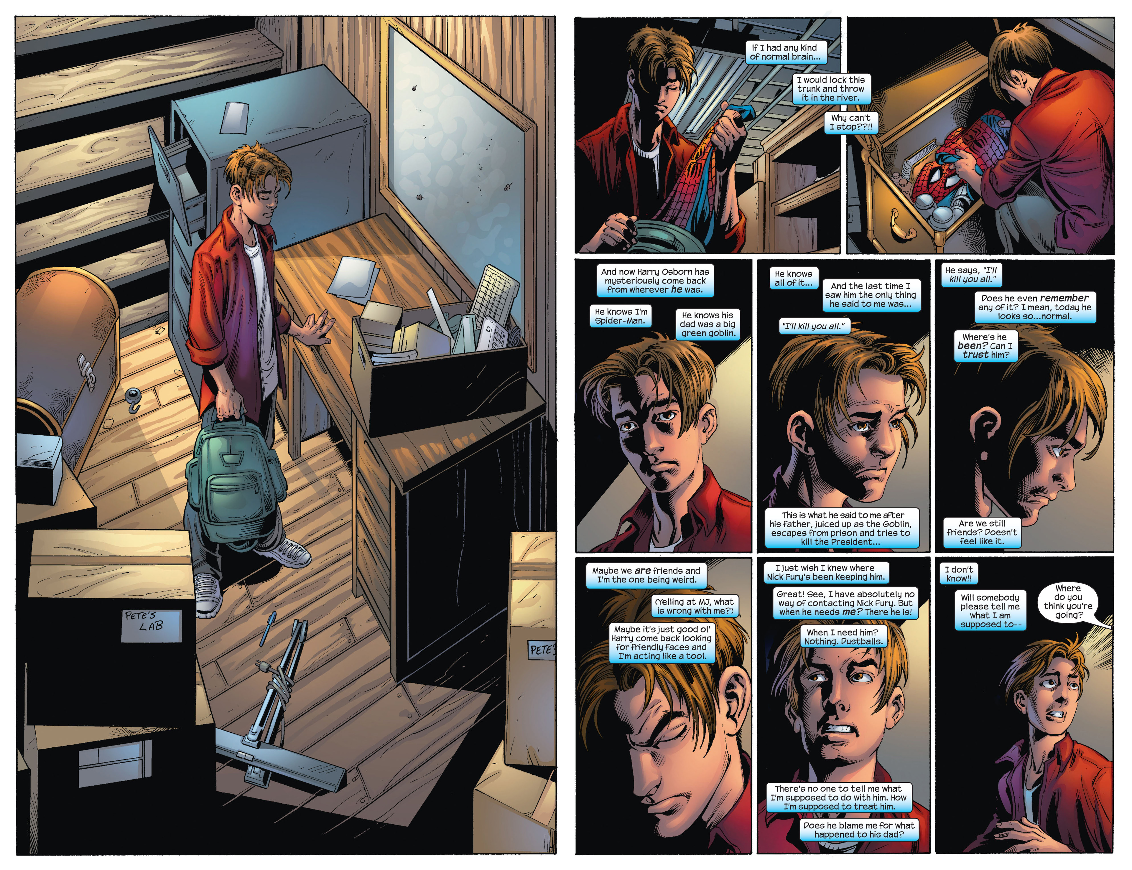 Read online Ultimate Spider-Man (2000) comic -  Issue #72 - 19