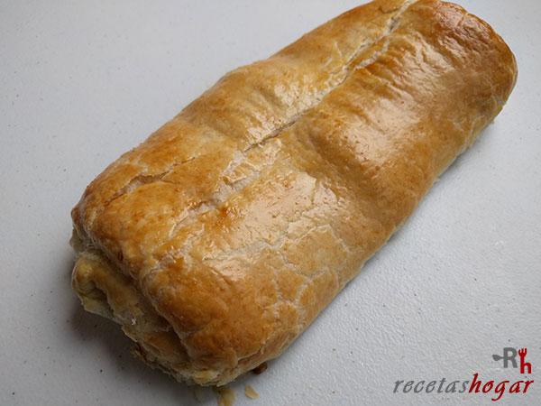 Delicioso pan de hojaldre casero