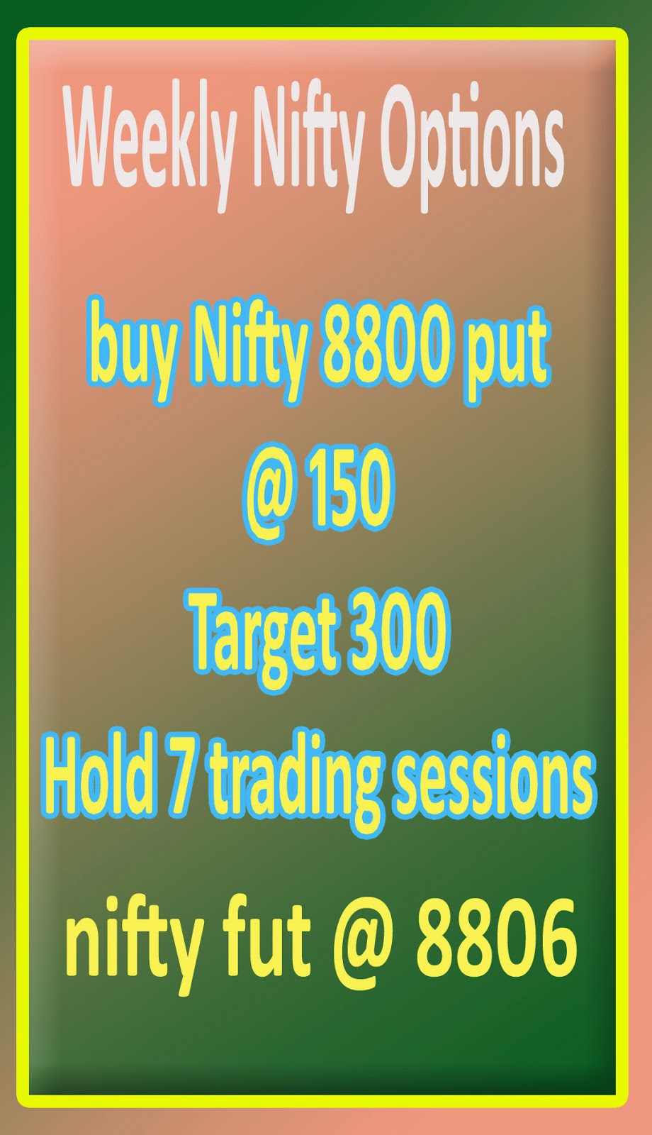 Nifty and stock options complaints