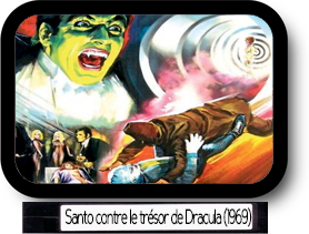 Santo contre le trésor de Dracula