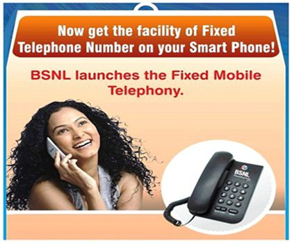 BSNL Fixed Mobile Telephony service