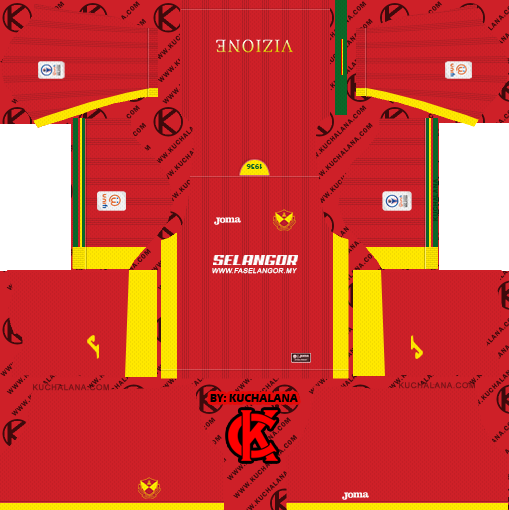 Selangor FA 2019 Kit - Dream League Soccer Kits