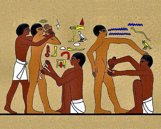 Dance the erotic rituals