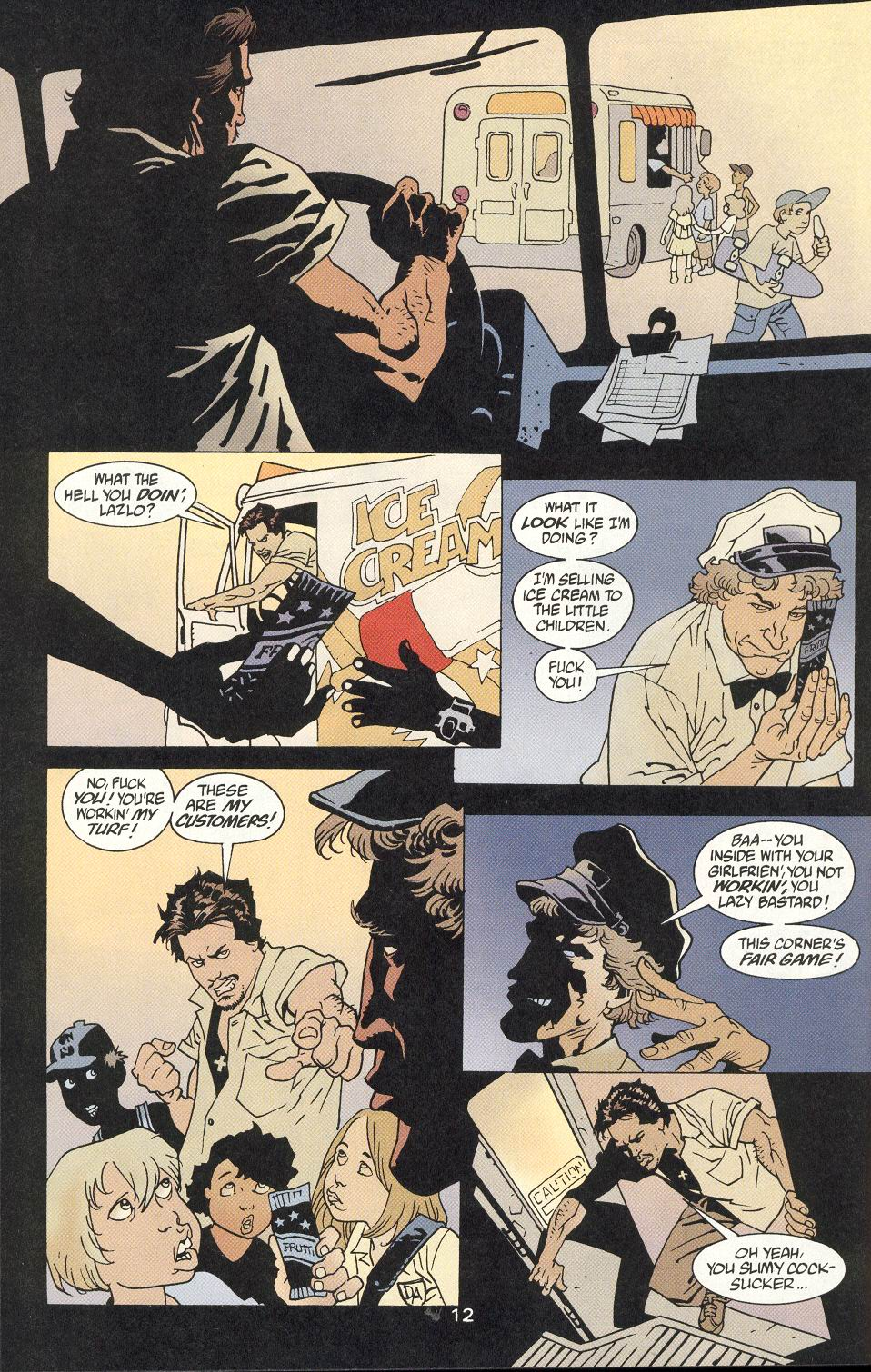 Read online 100 Bullets comic -  Issue #9 - 14