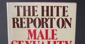 Entertaining hite report masturbation interesting. Tell