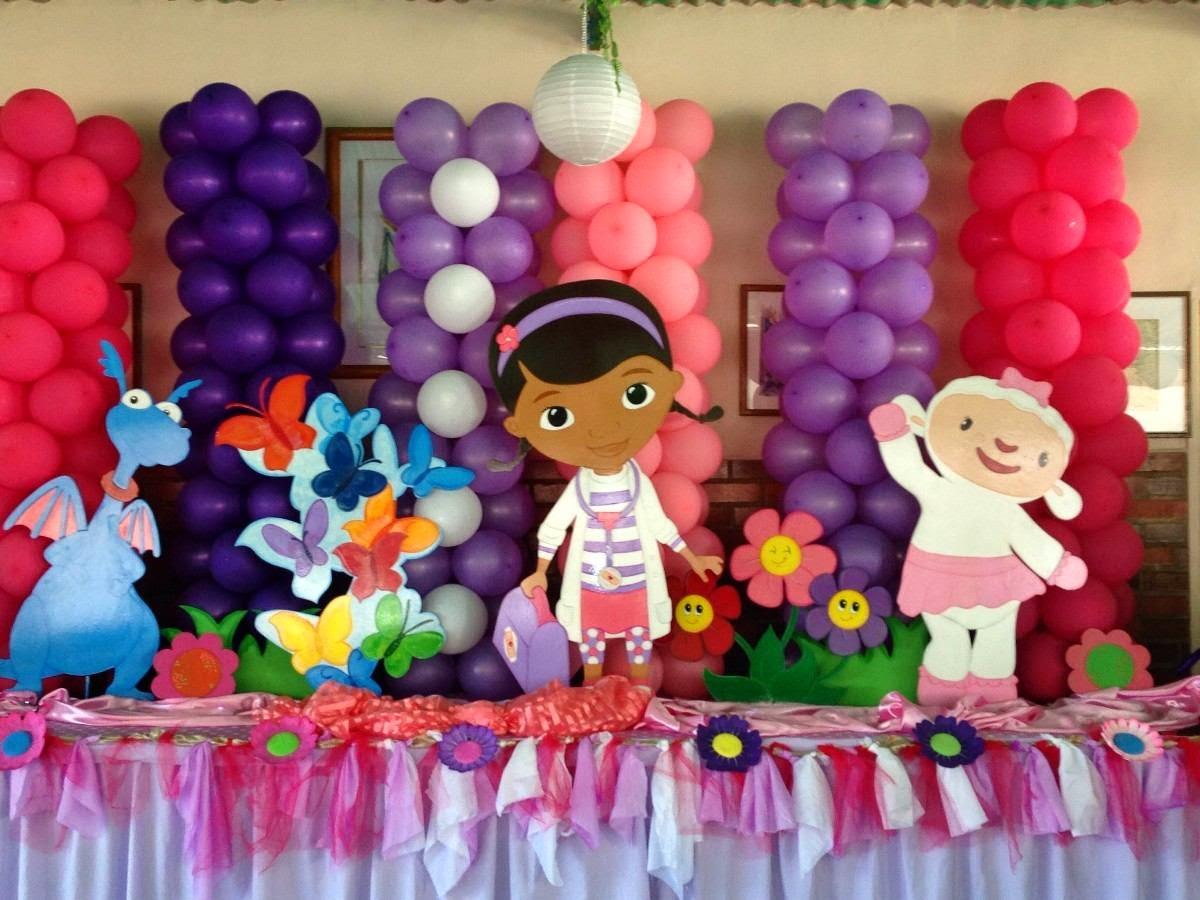Todo para tus fiestas decoracion cumplea os doctora juguetes - Todo para fiestas de cumpleanos ...