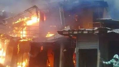 Almost 8,850 Poultry Birds, 70 Shops Razed In Yola Market inferno