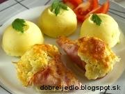 Karfiolové ružičky so syrom - recept