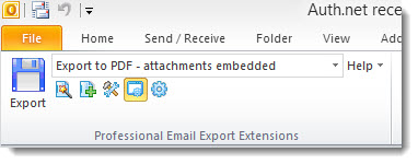 Extract and Convert Microsoft Outlook Email: