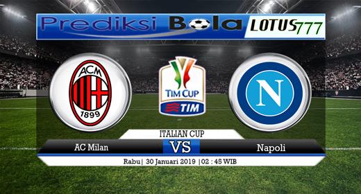 Prediksi AC Milan Vs Napoli 30 Januari 2019