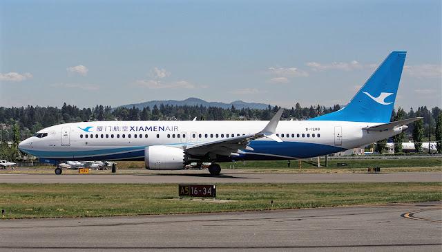 xiamen airlines boeing 737 max 8