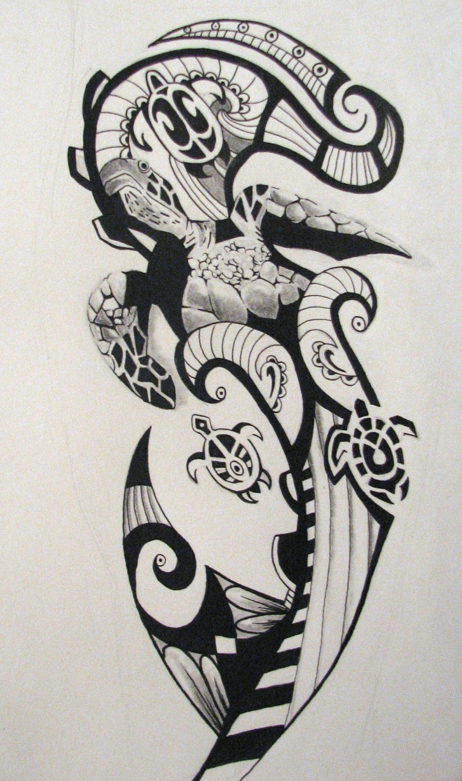 Maori Patterns Tattoo: 10 Best Hawaii Tribal Tattoos