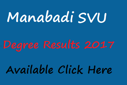 schools9 svu degree results 2017