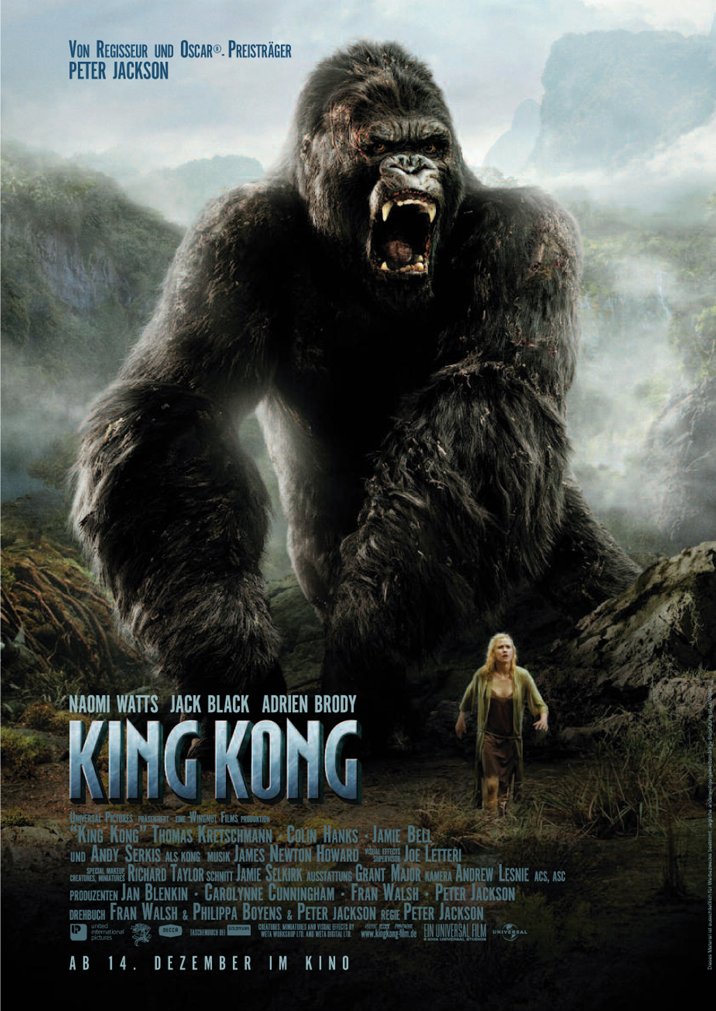 King Kong en el fancine